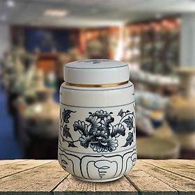 Lọ trà gốm Chu Đậu