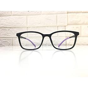 Gọng kính nhựa siêu dẻo, mắt nhỏ, kiểu dáng trẻ trung, năng động- PT9103-C5- đen tím