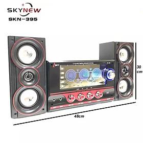 (Hàng nhập khẩu) Dàn âm thanh tại gia, tại nhà, loa vi tính hát karaoke có kết nối Bluetooth USB SKYNEW SKN395