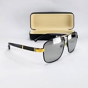 Mắt kính mát nam nữ đổi màu dùng cả ngày và đêm, tròng Polaroid không màu. Mã DKY6020DM.