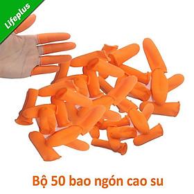 Túi 100 Bao ngón tay bằng cao su giúp bảo vệ ngón