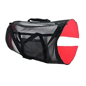 Lightweight Mesh Duffel Foldable Portable Backpack for Snorkeling Gear