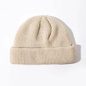 Mũ Nón Beanie nam nữ ngắn trơn nhiều màu chất len dày dặn; M04 - BONMIE