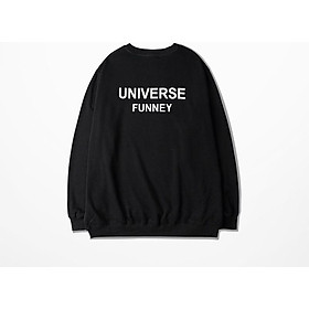 ÁO SWEATER IN CHỮ UNIVERSE FUNNEY