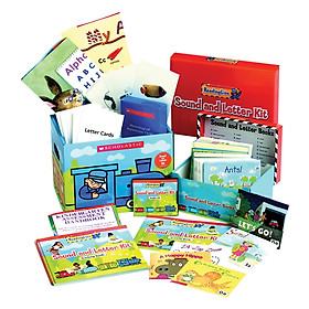 Scholastic ReadingLine Sound and Letter Kit (Include 26 Books)