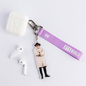 Móc khóa BTS WORLD Strap Keyring 40 x 170 x 5 mm