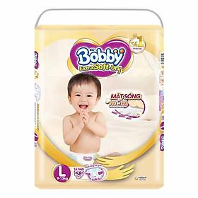 Tã Dán Siêu Mềm Bobby Extra Soft Dry Gói Siêu Lớn L-58 Miếng (9-13kg)