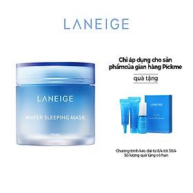 Mặt nạ ngủ dưỡng ẩm và tăng khả năng tự-vệ của da LANEIGE Water Sleeping Mask 70ml