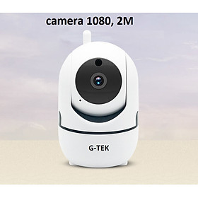 Camera IP không dây G-TEK , fullHD 1080p, quay ban đêm, xoay 360 độ, đàm thoại 2 chiều
