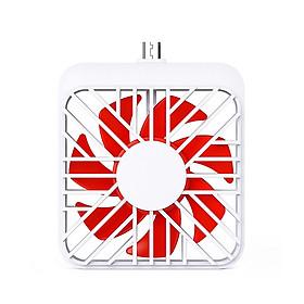 USB Fan with 180° Rotating Plug & Play Mini Portable Phones Fan for USB-C Smartphone