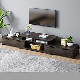 Kệ TiVi bằng gỗ - Lắp ghép hiện đại