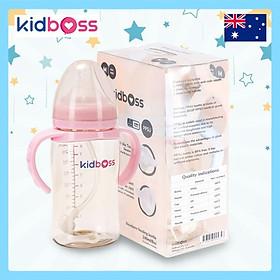 Bình Sữa Kidboss PPSU Cổ Rộng – 240ml