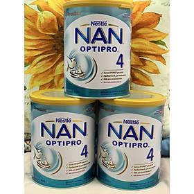 Combo 3 hộp Sữa Bột Nestlé NAN Nga Optipro 4 (800g) 18-24 tháng