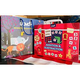 Bộ học Toán cộng trừ - Addition and Subtraction cho bé - Chính hãng UCMD Educational Toys