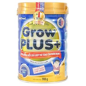 3 Hộp Sữa Bột Nutifood Grow Plus+ Xanh (900g)