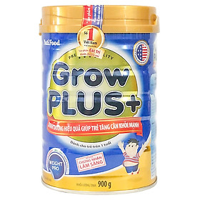 2 Hộp Sữa Bột Nutifood Grow Plus+ Xanh (900g)