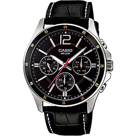 Đồng hồ nam dây da Casio MTP-1374L-1AVDF