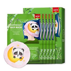 Hộp Mặt Nạ Dưỡng Tóc Ban Đêm Panda SNP OverNight Hair Mask