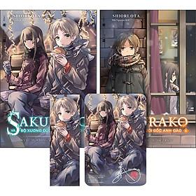 Combo 2 Cuốn 5 & 6: Sakurako Và Bộ Xương Dưới Gốc Anh Đào (Tặng Kèm Bookmark + Postcard Có Chữ Ký Tác Giả)