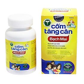 Cốm Tăng Cân Bạch Mai (120 Gram) - Cải thiện hệ tiêu hóa, bổ sung dinh dưỡng