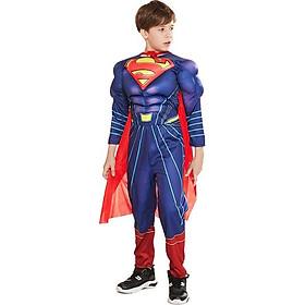Trang Phục Super Man Bé Trai Dành Cho Lễ Hội Halloween Cosplay Hóa Trang