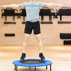 XiaomiZenph Foldable Muted Round Trampoline Kids Indoor Entertainment Tool Adult Fitness Workout Stability Training Trampoline-7