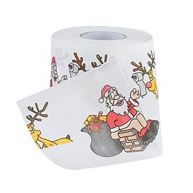 Giấy Vệ Sinh Cuộn Giấy Giáng Sinh Giáng Sinh Trang Trí Phòng Tắm