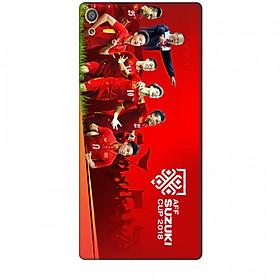 Ốp Lưng Dành Cho Sony Xperia XA ULTRA AFF CUP Đội Tuyển Việt Nam - Mẫu 1