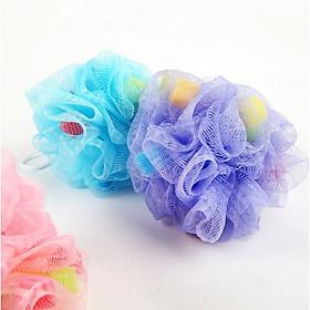 [COMBO 2 Chiếc] Bông tắm dạng lưới tạo bọt siêu mềm mịn cho bé - Màu ngẫu nhiên