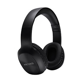 Microlab Q50 headset Bluetooth headset stereo music headset subwoofer headset mobile phone wireless headset support card black