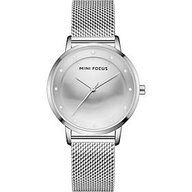 MINI FOCUS Women Quartz Watch Classic Fashion Mesh Bracelet Watch 3ATM Waterproof Female Watch Box Package