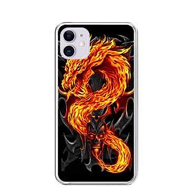 Ốp lưng dẻo cho Iphone 11 - 0218 FIREDRAGON - Hàng Chính Hãng