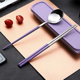 Bộ muỗng đũa nĩa cá nhân INOX 304, thiết kế sang trọng & Cao cấp
