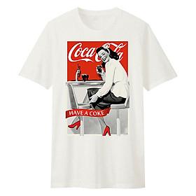 Áo T-Shirt Unisex Cho Bé Dotilo Cocacola Girl - HU035