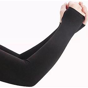 Combo 2 đôi găng tay chống nắng đa năng co giãn 4 chiều chống tia UV hiệu quả (trắng + đen)