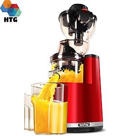 Máy ép chậm trái cây SAVTM JE220-08MOO thương mại, chức năng làm kem, lọc inox 304, tốc độ ép 37 vòng/phút, động cơ không chổi than, hàng chính hãng