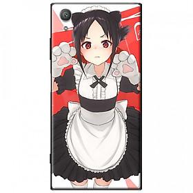 Ốp lưng dành cho Sony Xperia XA1 mẫu Anime em mèo