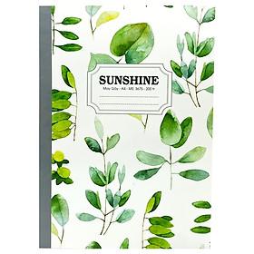 Sổ May Gáy Sunshine A4 200 Trang 3675 - Plants