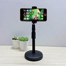 Chân đế để bàn kẹp điện thoại tiện dụng dùng livestream, quay video và giải trí