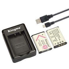 Kingma NP-BY1 dùng cho máy ảnh Sony RX100 AS30V AS100VR HX400 WX300 - Hàng chính hãng