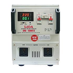 Ổn áp 1 pha LiOA DRI-5000 II NEW2020