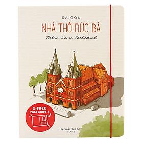 Sổ Explore The City 180 Trang Local Stories - Nhà Thờ Đức Bà (11.5 x 14.5 cm)