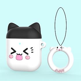 Bao Case Cho Airpods 1/ Airpods 2 Hình Mèo Cute