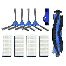 Side Brushes + Filter Screens+ Main Brush Kit for Eufy 11s RoboVac RoboVac30 Vacuum Cleaner