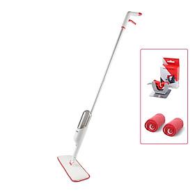 Bộ Cây Lau Nhà Thông Minh Đa Năng Phun Sương Parroti Spray SP01 Cao Cấp  - Tặng Thêm 1 Móc Treo và 1 Miếng Lau