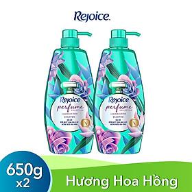Combo 2 Dầu Gội Rejoice Fraya Hương Hoa Hồng 650g
