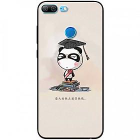 Ốp lưng dành cho Honor 9 Lite mẫu Panda mọt sách