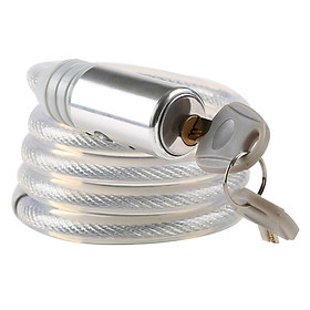 Gold pillar P515 bicycle lock mountain bike lock road folding dead fly lock lock anti-theft lock electric car lock battery car lock motorcycle lock cable lock quick release cable wire ring lock