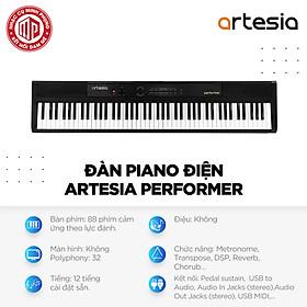 Đàn Piano Điện Artesia Performer - Màu đen - Hàng chính hãng