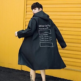 Áo mưa Hàn Quốc nam nữ dáng dài cực cute